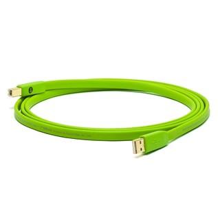 Neo Oyaide d+ USB Class B, 5 Metre, Green 1