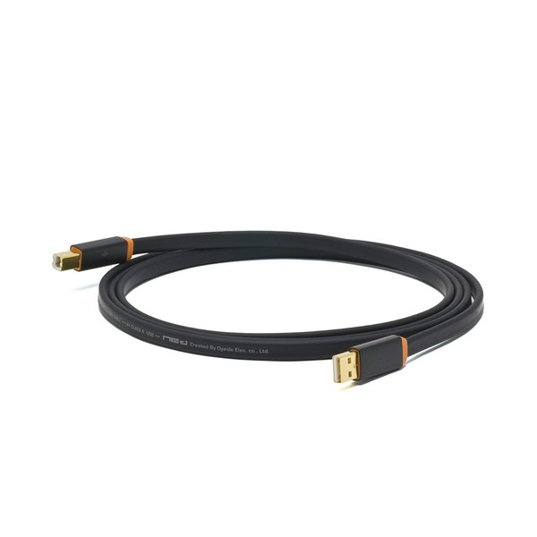 Neo Oyaide d+ USB Rev.2 Class A, 2 Metre, Orange 1