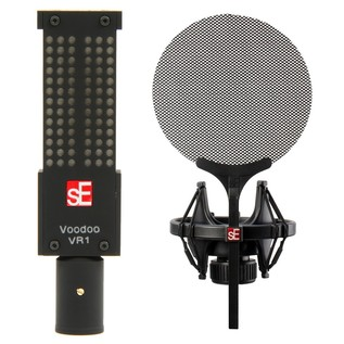 sE Electronics VR1 Voodoo Ribbon Mic With Isolation Pack - Bundle