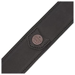Copperpeace Homerun Classic Black Guitar Strap