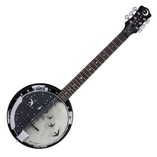 Luna Moonbird 6 String Banjo