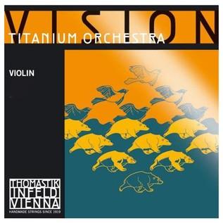 Thomastik Vision Titanium Orchestra 4/4 Violin D String, Silver Wound