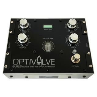 Gurus Optivalve Tube-Optical Compressor/Limiter Pedal