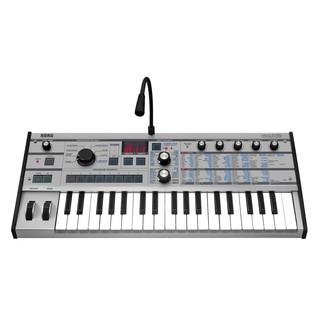 Korg microKORG Synthesizer, Platinum - Main
