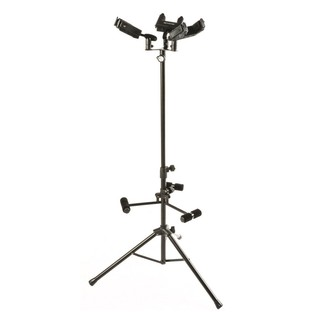 Quiklok Triple Guitar Stand with Self Locking Yoke
