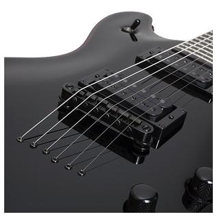 Blackjack Tempest Electric Guitar, Black
