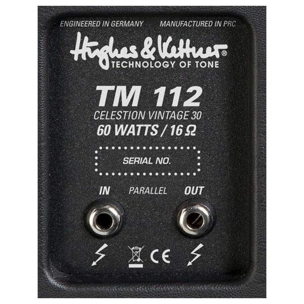 Hughes & Kettner Tubemeister TM 112 1x12 Speaker Cabinet Detail