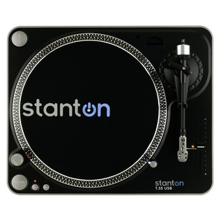 Stanton T.55 Belt-Drive USB Turntable - Top