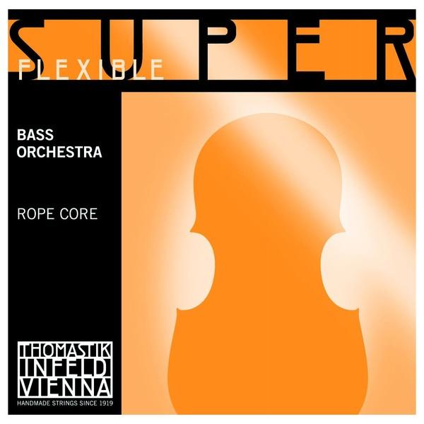 Thomastik SuperFlexible Orchestra Double Bass String Set, 4/4 Size