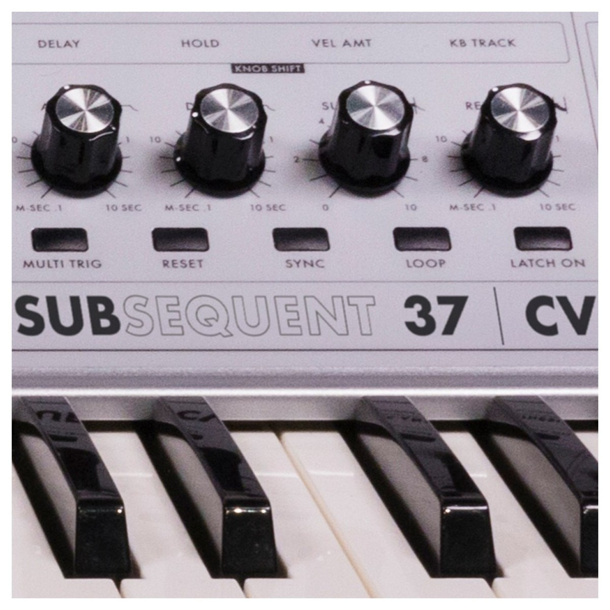 moog subsequent 37 cv blanc  en  u00e9dition limit u00e9e