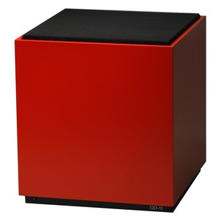Teenage Engineering OD-11 Cloud Hi-Fi Speaker, Red 1