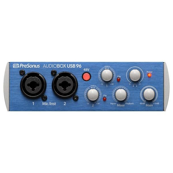 PreSonus Audiobox 96 Audio Interface - Front
