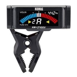 Korg AW-LT100V Clip-on Violin / Viola Tuner Front