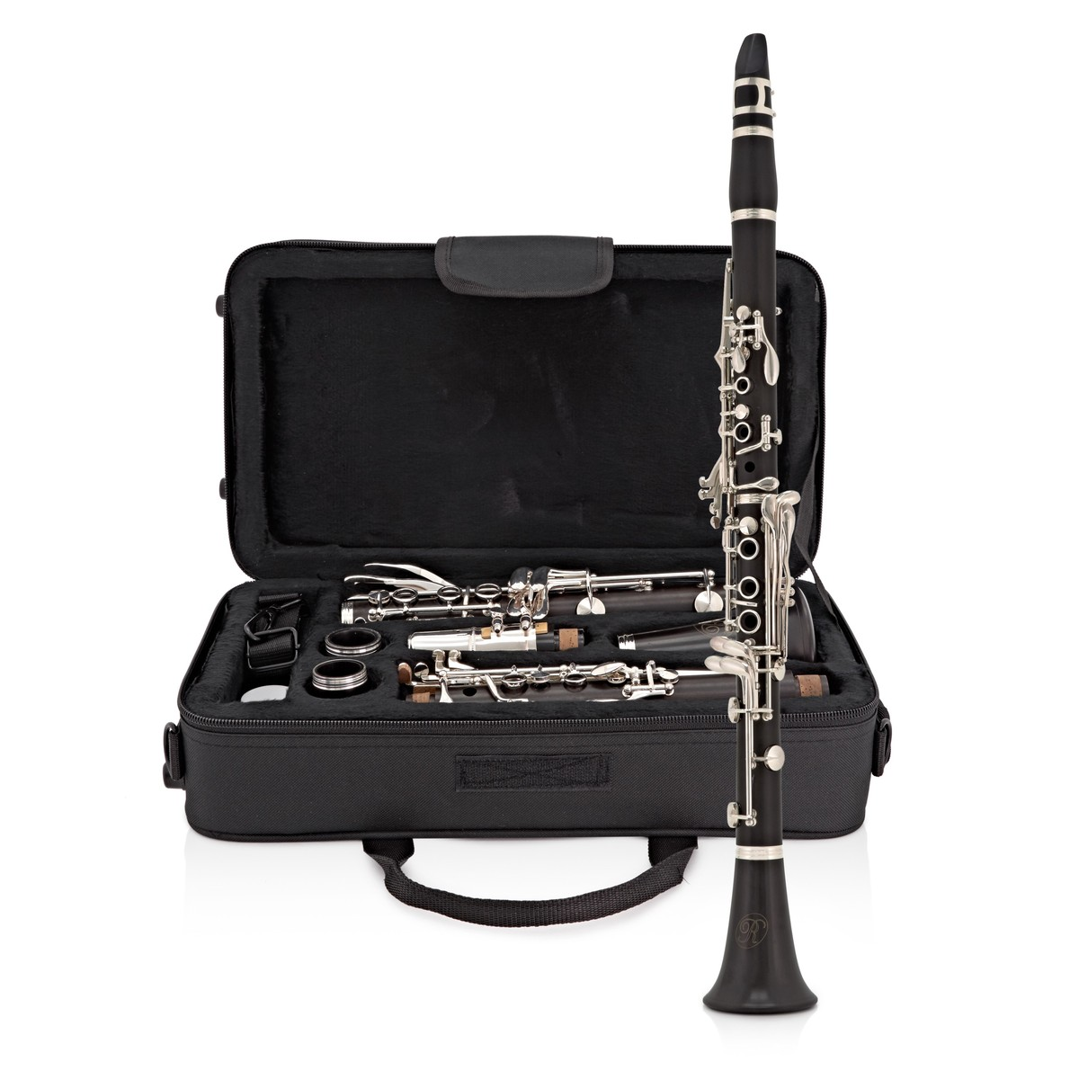 Click to view product details and reviews for Rosedale Professional Ebony Bb Clarinet By Gear4music.