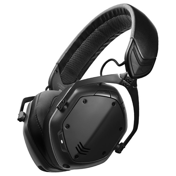 V-Moda Crossfade Wireless II Bluetooth Headphones, Black - Main