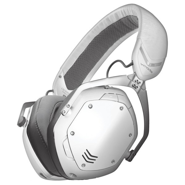 V-Moda Crossfade Wireless II Bluetooth Headphones, White - Main