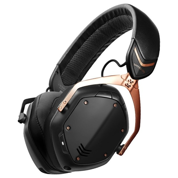 V-Moda Crossfade Wireless II Bluetooth Headphones, Rose Gold - Main