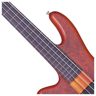 Stiletto Studio-4 FL Left Handed Bass Guitar, Honey Satin