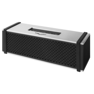 V-Moda Remix Wireless Speaker, White - Angled