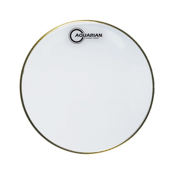 "Aquarian Classic Clear 12"" Snare Bottom Drum Head"