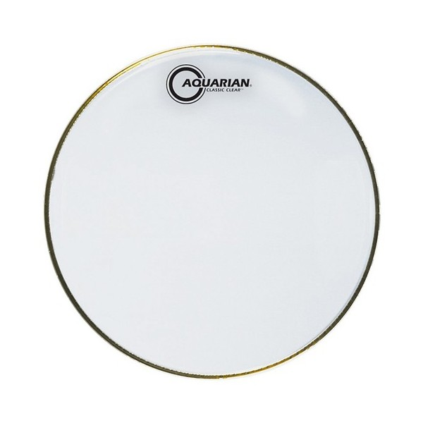 "Aquarian Classic Clear 13"" Snare Bottom Drum Head"