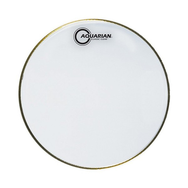 "Aquarian Classic Clear 14"" Snare Bottom Drum Head"