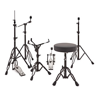 SJC Drums Foundation Shadow 6pc Hardware Pack
