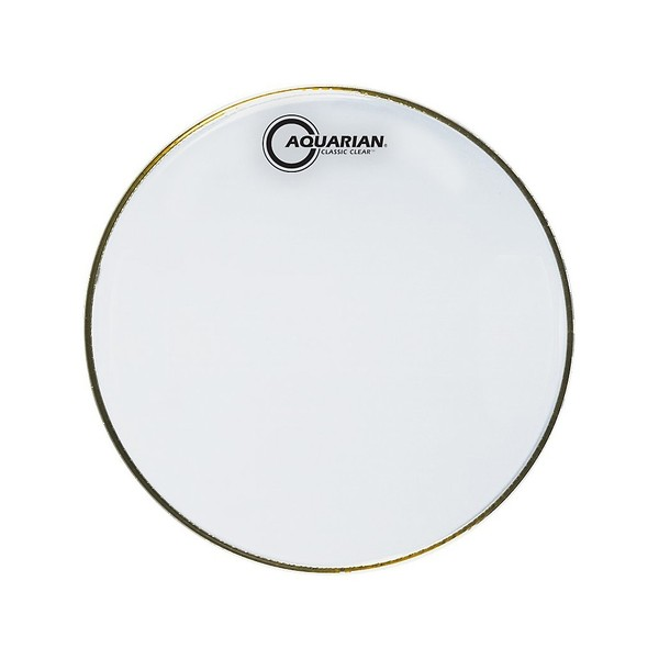"Aquarian Classic Clear 16"" Drum Head"