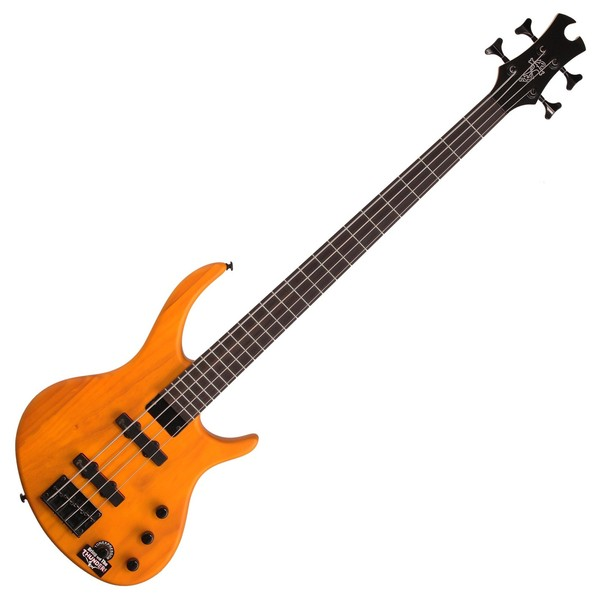 Epiphone Toby Deluxe IV Bass Guitar, Trans Amber