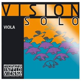 Thomastik Vision Solo 4/4 Viola D String, Synthetic Core