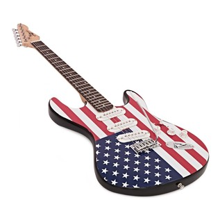 LA Electric Guitar + Complete Pack, Stars and Stripes