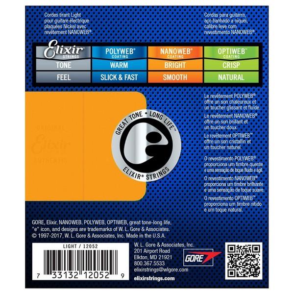 Elixir E12052 Nanoweb
