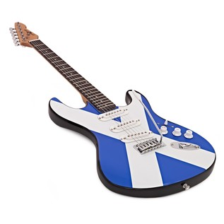 LA Electric Guitar by Gear4music, Scottish Flag