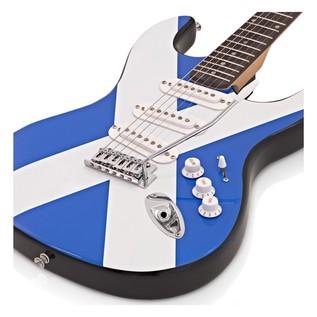 LA Electric Guitar + Amp Pack, Scottish Flag