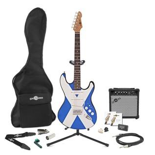 LA Electric Guitar + Complete Pack, Scottish Flag