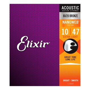 Elixir E11002 Nanoweb Extra Light Strings