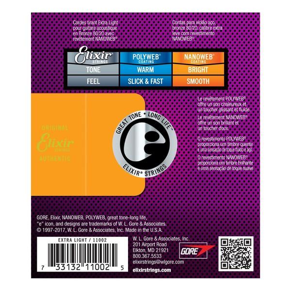 Elixir E11002 Nanoweb