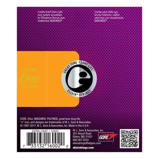 Elixir E16002 Nanoweb Back