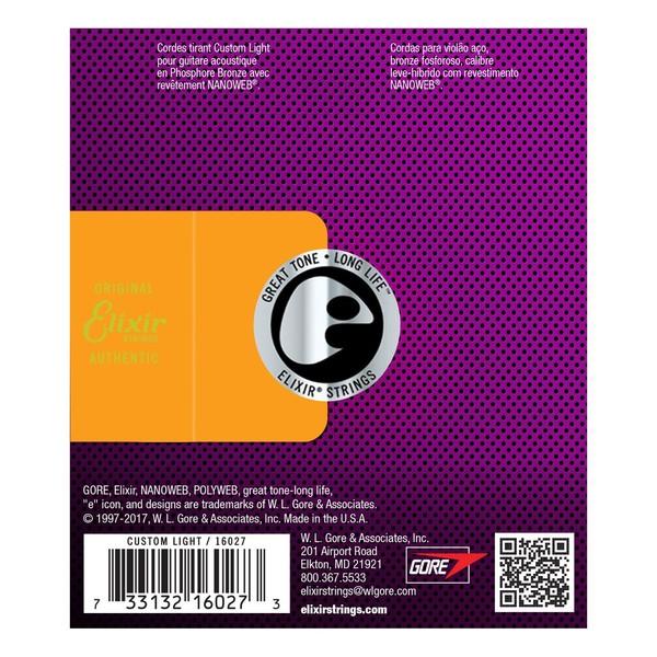 Elixir E16027 Nanoweb