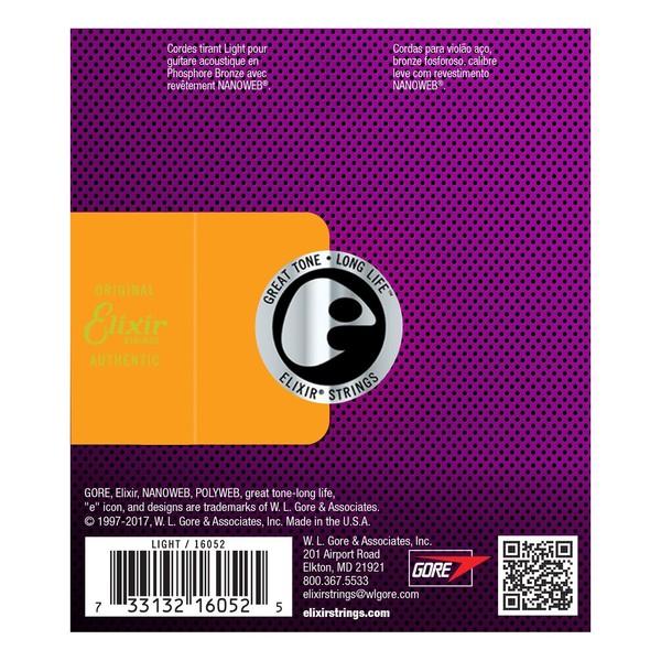 Elixir E16052 Nanoweb