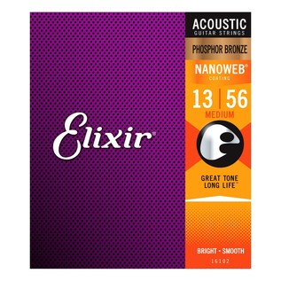 Elixir E16102 Nanoweb Medium Strings