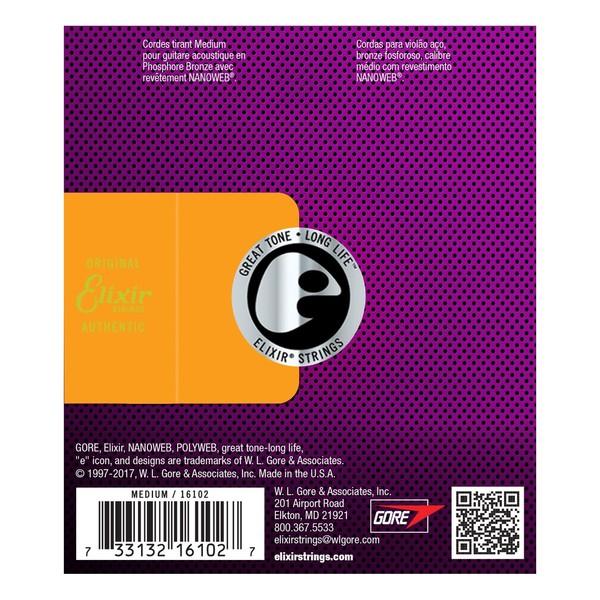 Elixir E16102 Nanoweb