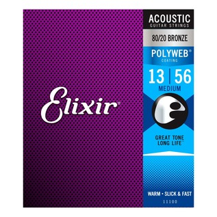 Elixir E11100 Polyweb Medium Strings