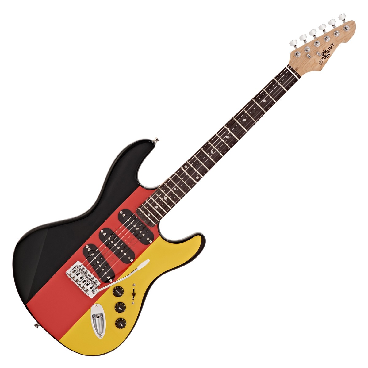 la electric guitar by gear4music german flag at gear4music. Black Bedroom Furniture Sets. Home Design Ideas