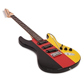 LA Electric Guitar by Gear4music, German Flag