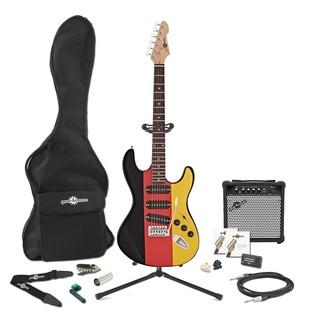 LA Electric Guitar + Complete Pack, German Flag