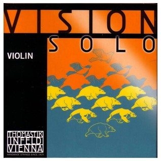 Thomastik Vision Solo 4/4 Violin E String, Steel Wire Core