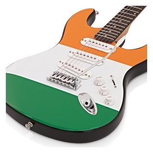 LA Electric Guitar + Amp Pack Irish Flag