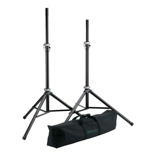 K&M 21459 Speaker Stand Pack