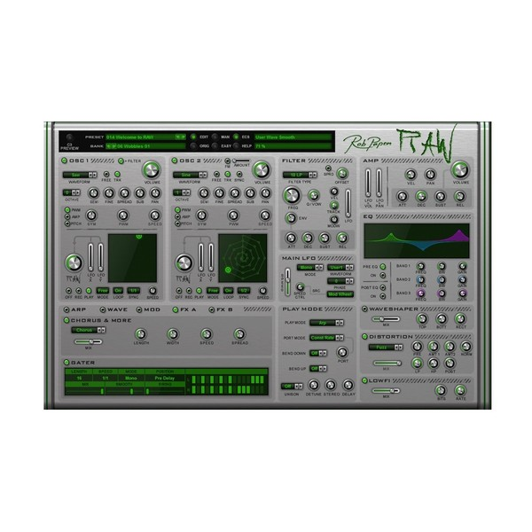 Rob Papen eXplorer 4, VST Collection - RAW